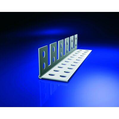 Élvédő PVC fehér hajlítható 3767