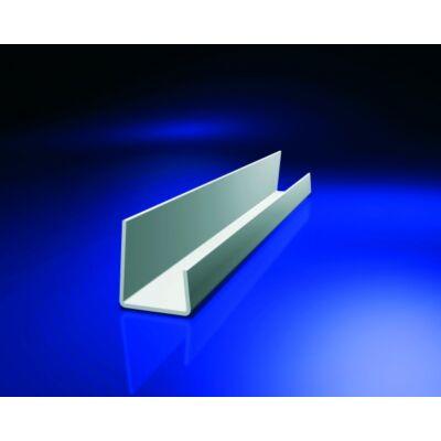 J lezáró profil PVC 12,5mm lap-hoz