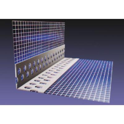Sarokvédő PVC szegély hálóval