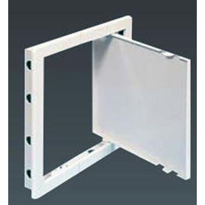 Revíziós ajtó műanyag 300x300 mm