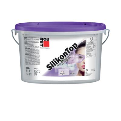 BAUMIT Silikontop szilikongyanta kötőanyagú vékonyvakolatfehér K1,5
