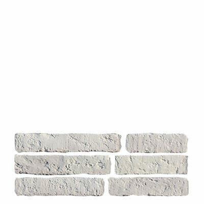 Semmelrock Bradstone Old Town fali dekorlap mészkőfehér (7,5 cm széles vegyes méret, 0,63 m2)