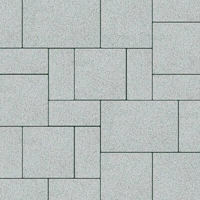 Semmelrock Citytop+ kombi középszürke  (10x20,20x20,30x20)x6 cm