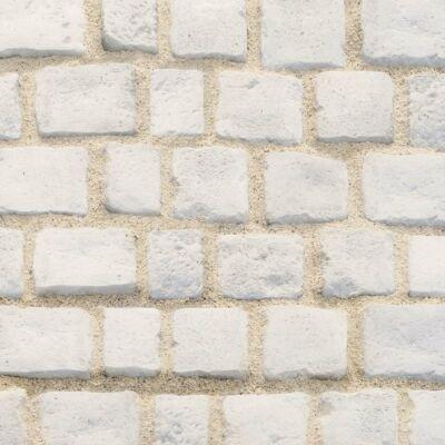 Semmelrock Bradstone Cobble kombi mészkőfehér (12x16, 16x16, 17,5x16, 20,5x16)x6cm