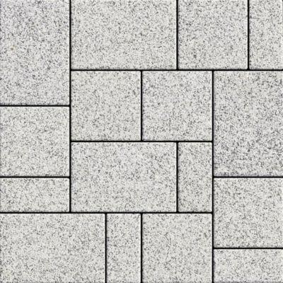 Semmelrock La Linia kombi gránitszürke (10x20, 20x20, 30x20)x6cm