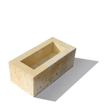 Semmelrock Travero kerítés normálkő homokkő (40x20x15cm)