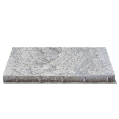 Semmelrock Umbriano lap gránitszürke-fehér (60x30x3,8cm)
