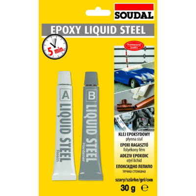 SOUDAL Epoxy liquid steel 30 g