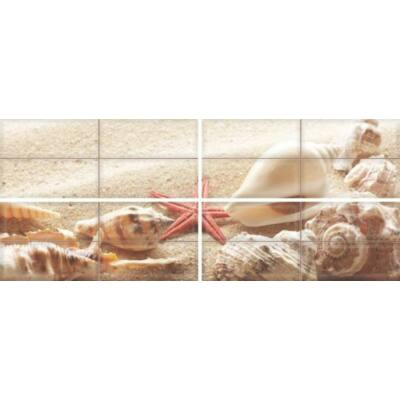 CARNEVAL BEACH F-53041 dekor falburkoló szett 4 db-os 4x20x50 cm