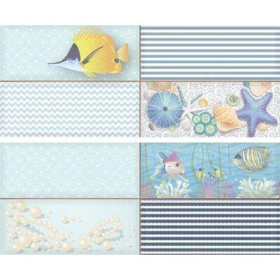 CARNEVAL NEPTUN F-53021 dekor falburkoló szett 2 db-os 2x20x50 cm